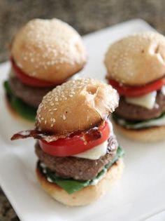 Bacon and Ranch Cajun Baby Cheeseburgers