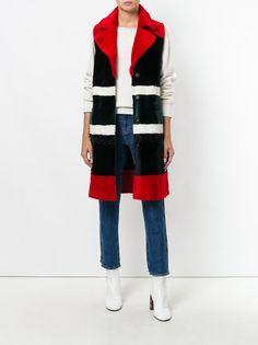 Drome длинное пальто-жилет