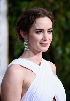 Actress Emily Blunt attends the 72nd Annual Golden Globe Awards at The Beverly Hilton Hotel on January 11, 2015 in Beverly Hills, California