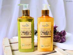 tianDe šampón a balzam na vlasy Zlatý zázvor - KAMzaKrásou.sk