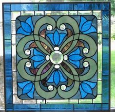 Art: Stained Glass Window Victorian