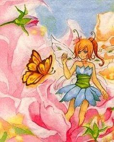 Little Fairy III - Cross stitch pattern pdf format