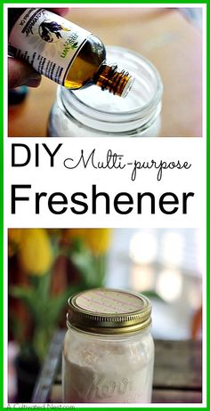 This DIY freshener has so many uses that I always keep a mason jar or two ready on hand. Environmentally friendly and frugal too! DIY cleaner recipes  homemade cleaners  DIY fresheners