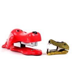 Red Dog Stapler & Croc Remover by Cosa Nova