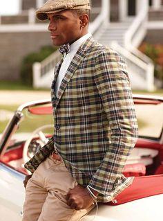 By Polo Ralph Lauren #bowtie #blazer #tartan