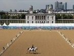 The Dressage Arena Olympic Equestrian Photos - Equestrian Photo Galleries | London 2012#the-greenwich-park-eventing-invitational-gets-underway