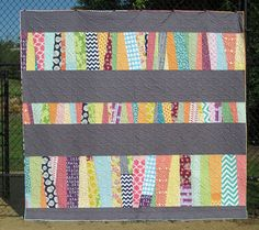 Foundation Pieced Quilt by Sew This is My Life