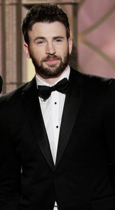 Chris Evans - I really like his natural hair color.