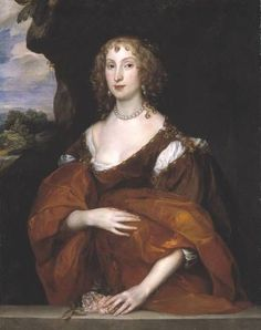 17세기 바로크 시대에는 개인주의와 향락주의에 빠져 상류층의 남성 여성 모두 과도한 장식과 메이크업이 유행한다. 마치 백랍으로 만든 인형처럼 보였고, 눈썹화장은 밝게 강조하고 뺨 위치보다 약간 낮은 곳에 붉은 연지를 칠하거나 장식종리를 얼굴에 붙이고 다녔다. 안톤 반 다이크, 헨리에타 여왕의 초상, 빈 역사박물관