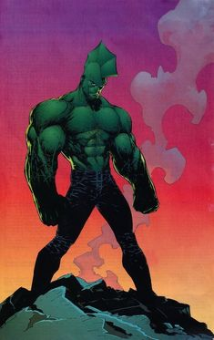 Savage Dragon by Marc Silvestri (Image comics) Marvel Comic Character, Comic Book Characters, Comic Books Art, Comic Art, Book Art, Spawn, Gi Joe, Dark Horse Comics, Mike Mignola Art
