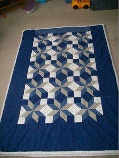 Queen Size Quilt by CraftyQuilting on Etsy