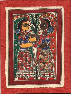 """CrazyLassi's Madhubani Art Practice and Research Blog: """"Madhubani Must Be Learnt, Not Developed"""""""