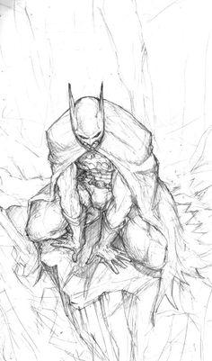Batman fanart by scorn-maniac on DeviantArt Comic Book Drawing, Batman Drawing, Batman Artwork, Comic Book Characters, Comic Books Art, Comic Art, Arte Dc Comics, Marvel Comics Art, Fantasy Character Design