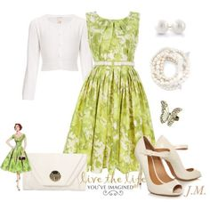 lime dress outfits pic