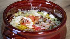 Πεντανόστιμο Μπουγιουρντί (Το πιο διάσημο τυρένιο ορεκτικό) Greek Recipes, Chili, Sweet Home, Appetizers, Soup, Eggs, Breakfast, Ethnic Recipes, Desserts