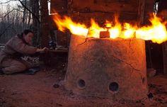 Les fours - Chemins d'argile -Argiles- Emmanuel Alexia - Laetitia Pineda - Raku- Céramiques