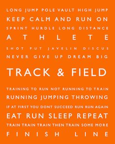 track throwing quotes for athletes quotesgram
