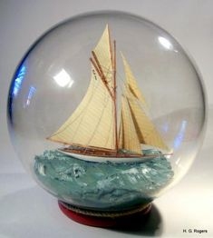 SHIP IN A BOTTLE...