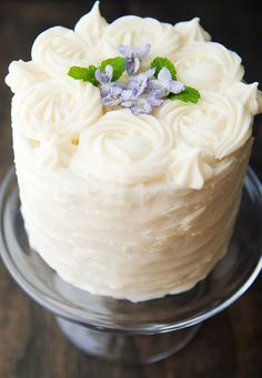 candied violets recipe | use real butter