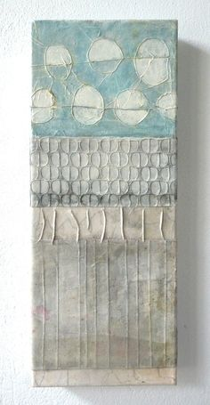 The Daily Muse: Cordula Kagemann, Mixed Media / Collage Artist Curated by… Mixed Media Collage, Mixed Media Canvas, Collage Collage, Stitching On Paper, Modern Art Movements, Words On Canvas, Encaustic Art, Collage Artists, Mix Media