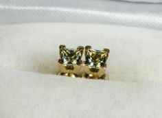These cute butterfly earrings feature glittering round-cut blue sapphire stones on the wings. Beautifully-constructed of highly polished yellow gold, these earrings secure with screw backs. Sapphire Stone, Diamond Stone, Blue Sapphire, 14k Earrings, Sapphire Earrings, Cute Butterfly, Butterfly Earrings, Gems, Jewelry