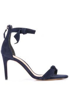 Alexandre Birman Clarita 75 Sandals In Nightshade Mules Shoes, Sandals, Alexandre Birman, Blue Suede, World Of Fashion, Luxury Branding, Open Toe, Stiletto Heels, Ankle