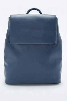 Minimal Navy Backpack - Urban Outfitters