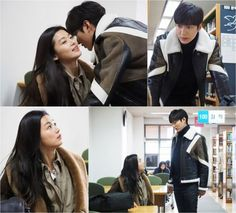"""[Spoiler] """"The Legend of the Blue Sea"""" Jeon Ji-hyeon and Lee Min-ho Go on a Library Date @ HanCinema :: The Korean Movie and Drama Database"""