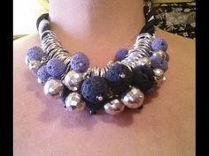 Collana con perle laviche - Tutorial bijoux