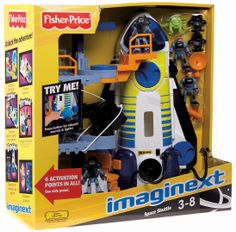 Amazon.com: Fisher-Price Imaginext Space Shuttle and Tower: Toys & Games