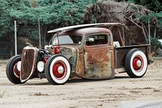 rat rod trucks | Before you criticize someone you should walk a mile in their shoes ...