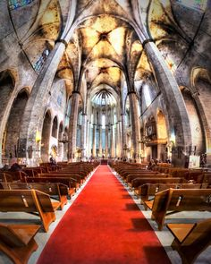 Santa Maria del Mar - Barcelona, Spain