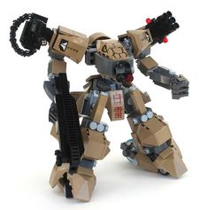 The Baddest Mech on Wheels | The Brothers Brick | LEGO Blog