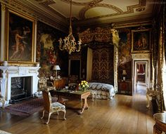 Holkham Hallis an 18th-centurycountry houselocated adjacent to the village ofHolkham, on the north coast of the English county ofNorfolk...