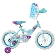 Huffy Disney Frozen Cruiser Bike With Sleigh