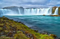 """Goðafoss waterfall, Iceland"" by Scott Dimond"