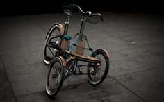 'kaylad-e' by niavis design is an electric tricycle made for commuting around city streets, it aims to help people shift to more active means of transport.