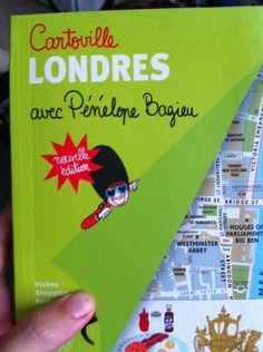 @eclatdavocat : Le cartoville de Londres avec Penelope Bagieu