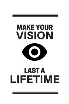 There are a number of things you can do to keep your eyes healthy and protect your vision.