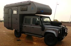 Land Rover fixed and Demountable Campers