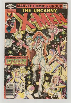 Uncanny X-Men Vol 1 130 Bronze Age Comic Book by RubbersuitStudios