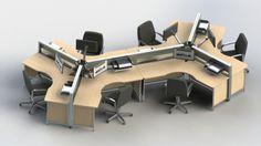 Swiftspace ™ - Design Centre - 6 Pod 120 Degree