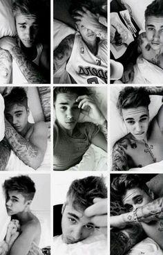 Ugh his bed selfies