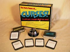 I own this party game and it is very fun and silly. Great game for large groups and getting to know friends better. ACG  Curses Board Game. #popularboardgames
