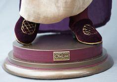 Авторская студия OleLoo: Портретная кукла. Мадам Лаванда