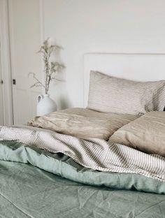 Sage Green Sheets Set – Foxtrot Home Sage Green Bedroom, Green Master Bedroom, Earthy Bedroom, Linen Bedroom, Green Rooms, Bedroom Decor, Bed Linen, Green Bed Sheets, Diy Bed Sheets