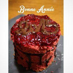 Layer cake framboise chocolat