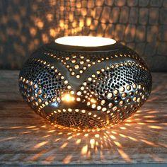 Silver Oval Moroccan Lantern