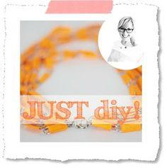 just diy :: Büroklammer Kette | Livelifedeeply - now