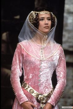 """Medieval princess (Sophie Marceau from """"Braveheart"""") Sophie Marceau, Medieval Costume, Medieval Dress, Medieval Fashion, Medieval Clothing, Historical Costume, Historical Clothing, Tv Spielfilm, Jenifer Aniston"""